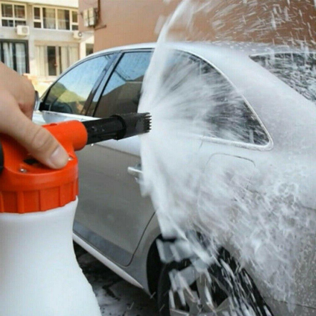 Car Foam Bottle Hose Washing