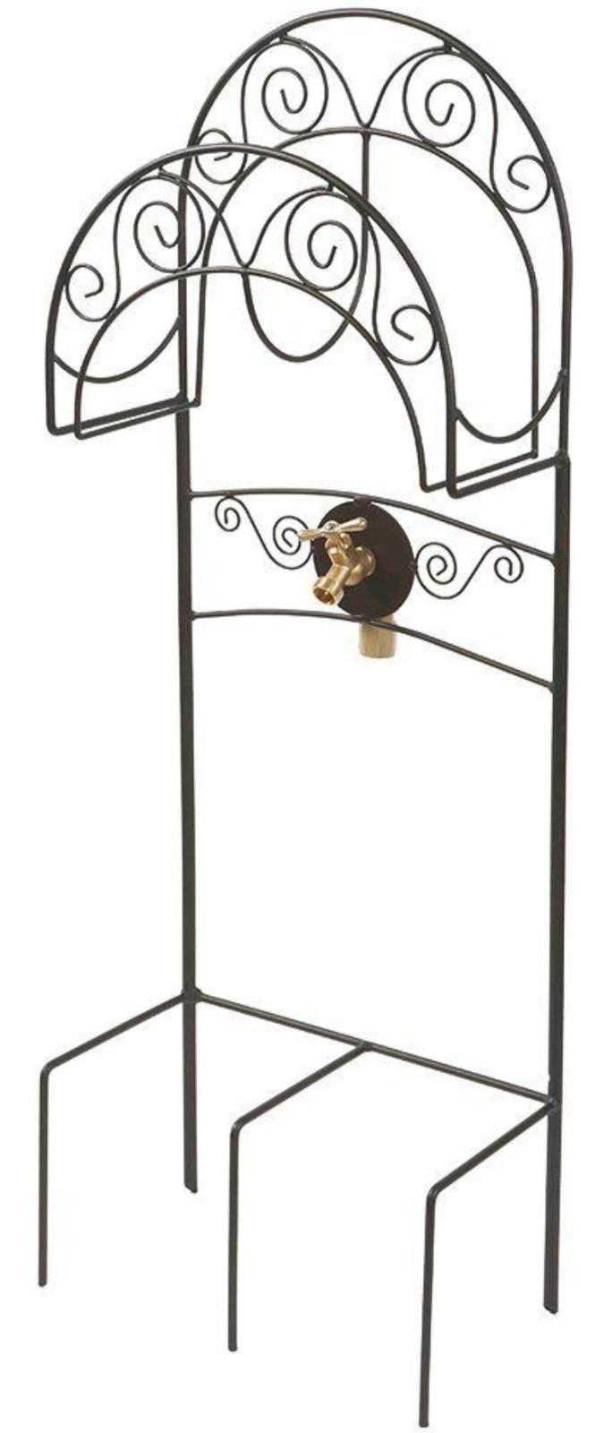 Liberty Garden Products Decorative Garden Hose Stand Wire Ca