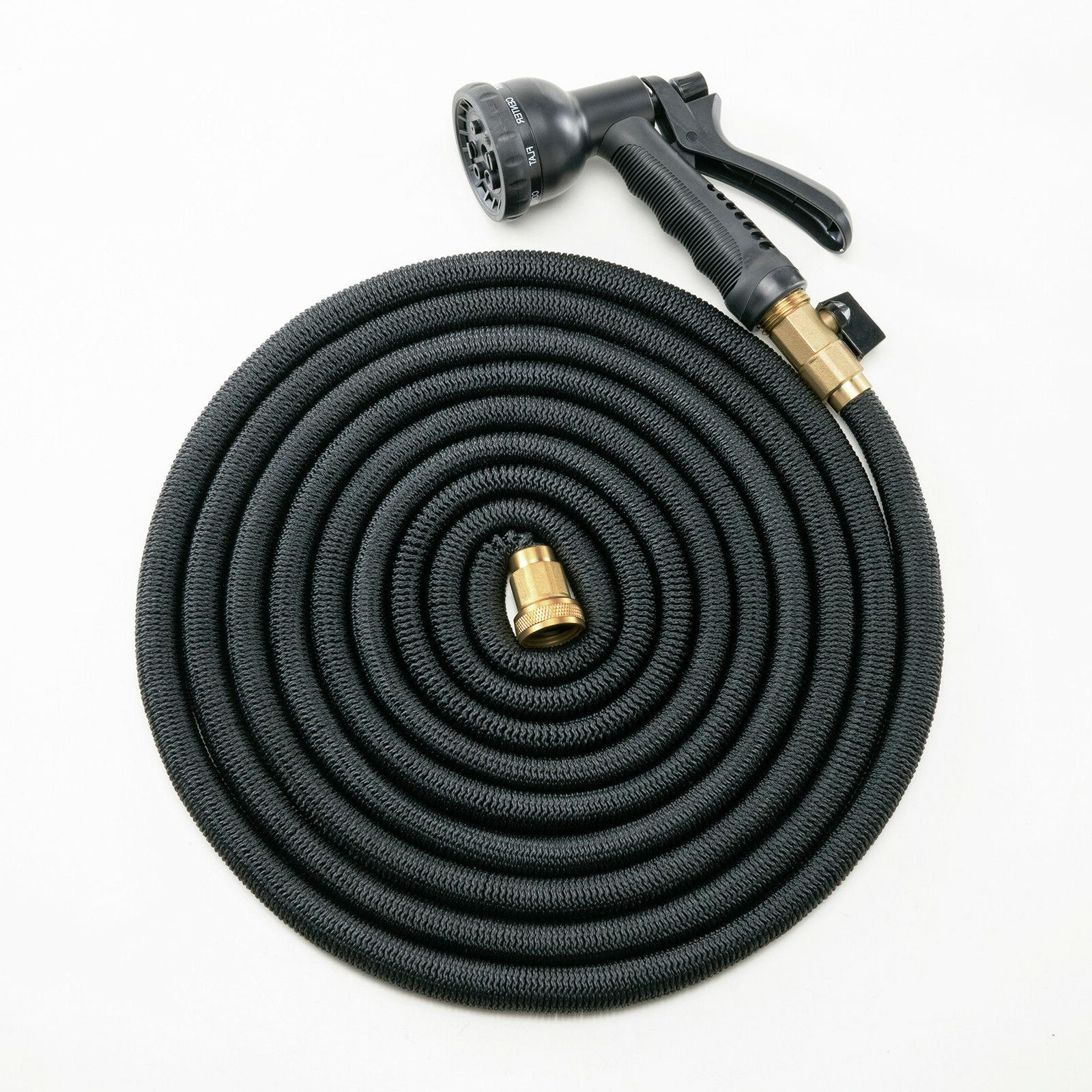 Deluxe 100 Feet Expandable Flexible w/ Spray Nozzle