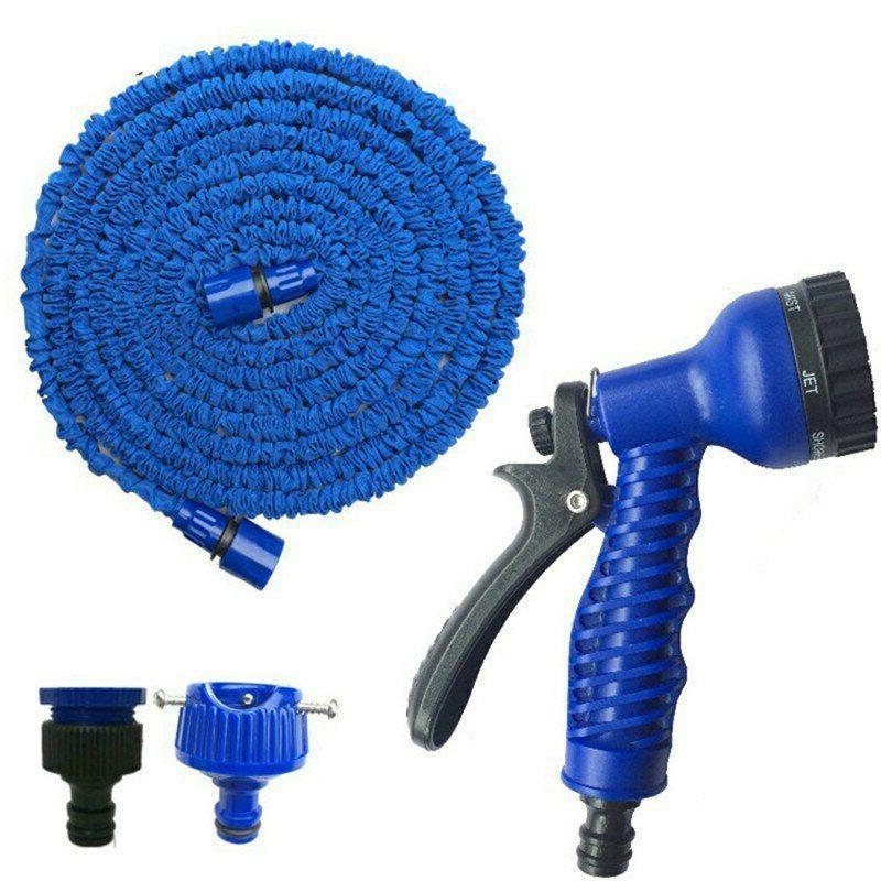 Deluxe 25 50 100 150 200 Ft Flexible Garden Water Spray Nozzle