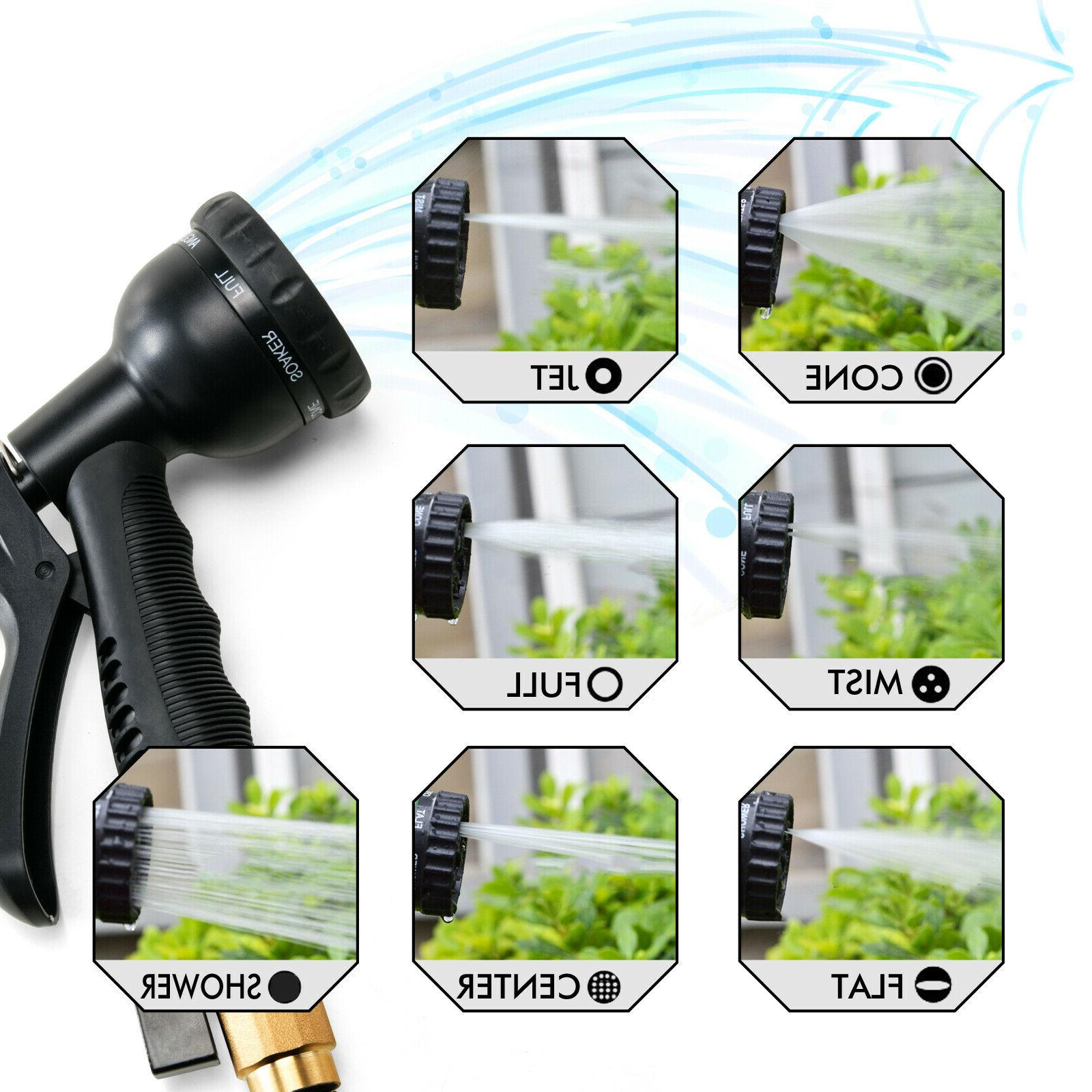 Deluxe 25 100 FT Expandable Flexible Garden Water Hose