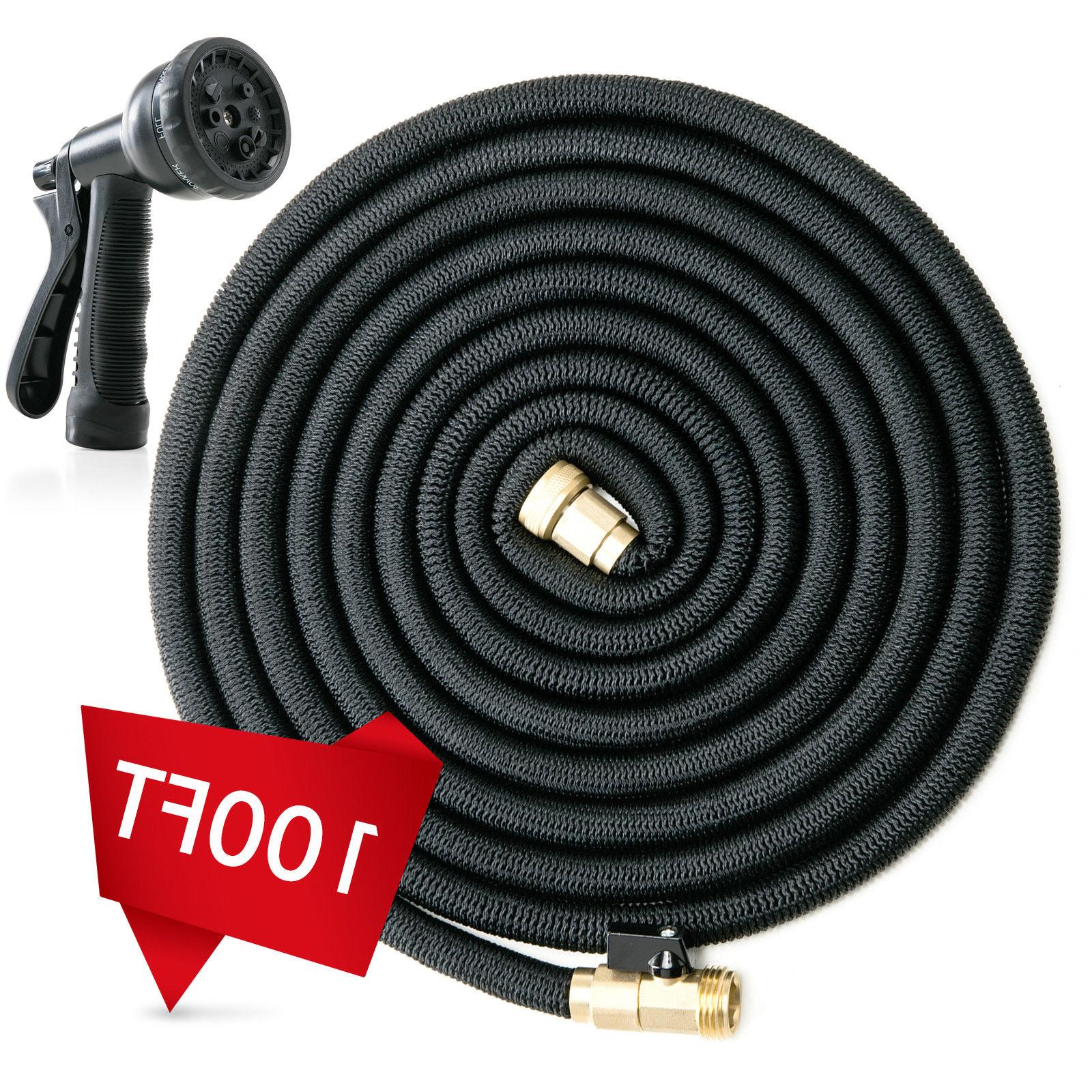 Deluxe 25 FT Water Hose Nozzle