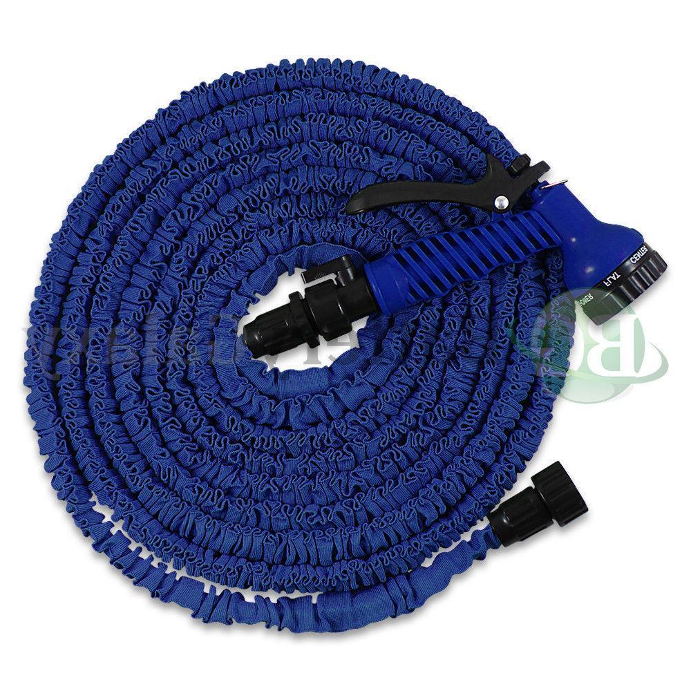 Deluxe 50 100 Garden Hose w/ Spray Nozzle