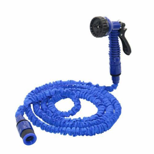 Deluxe 50 100 FT Flexible Garden Water Hose Spray BA