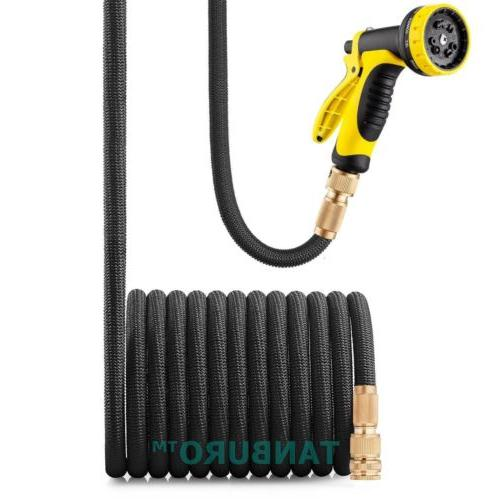 Deluxe 50 75 100 FT Feet Expandable Flexible Garden Water Ho