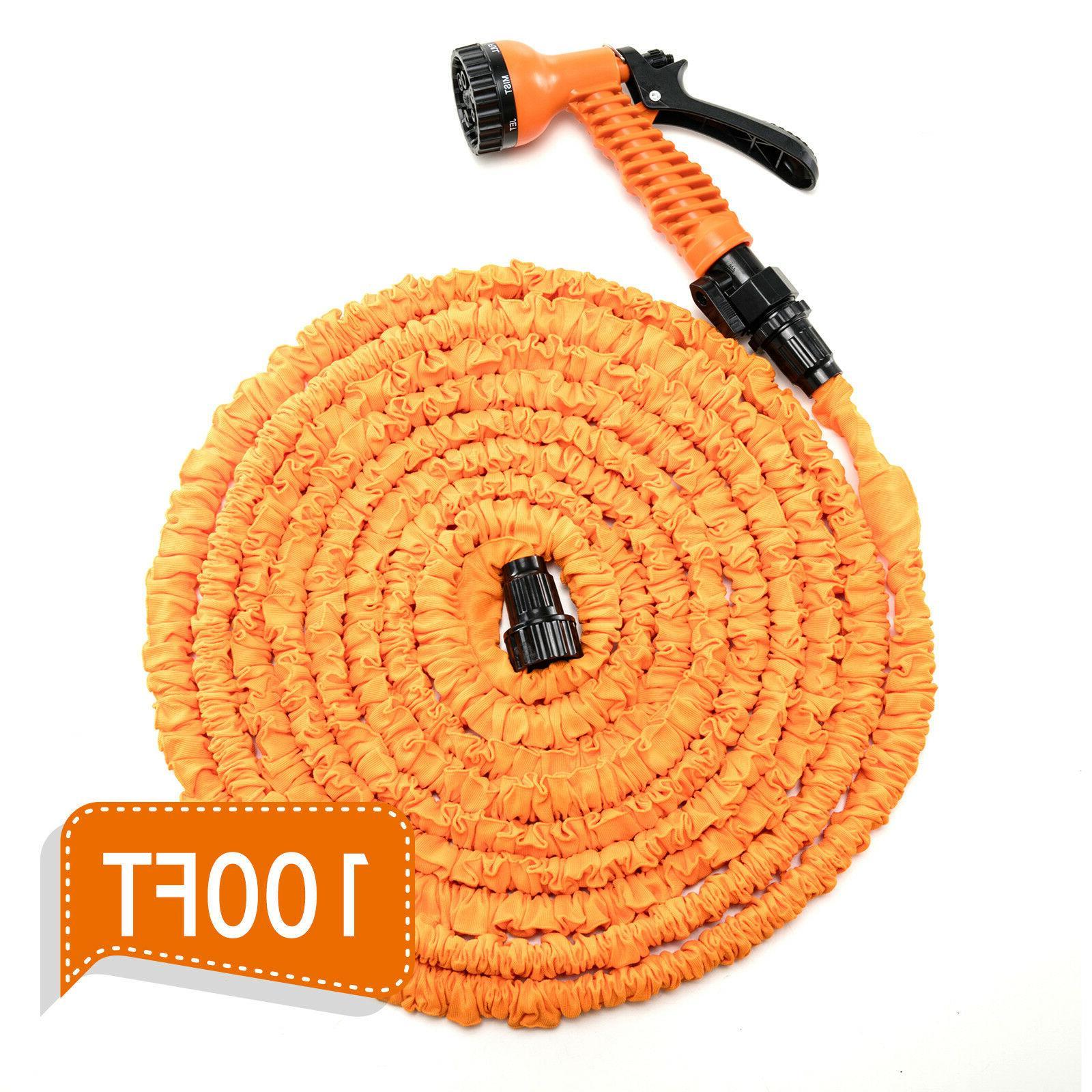 Deluxe 50 FT Nozzle Flexible Garden