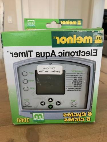 deluxe digital aqua timer model 3060 open
