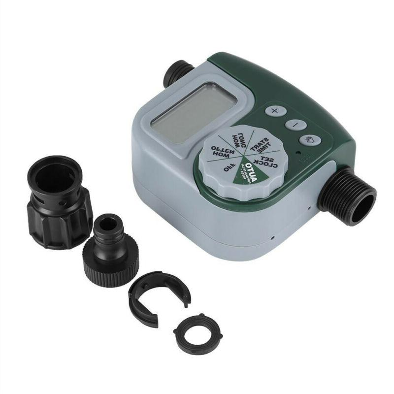digital automatic hose faucet timer outdoor lawn