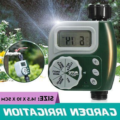 digital electronic hose sprinkler watering timer garden
