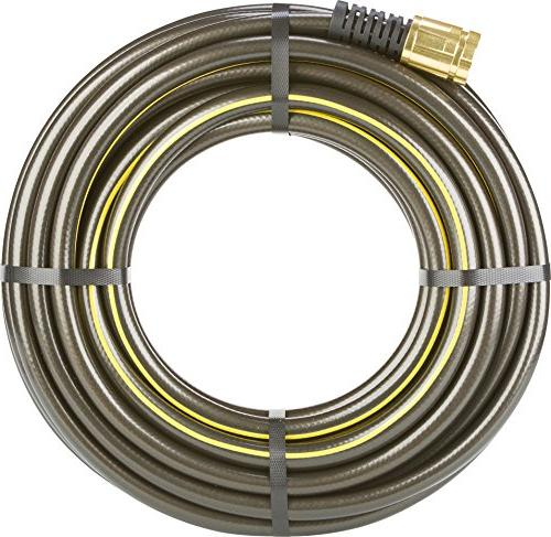 Swan Products ELIH58100 Element CommercialGRADE Industrial Hose with Crush Couplings 100' x Black