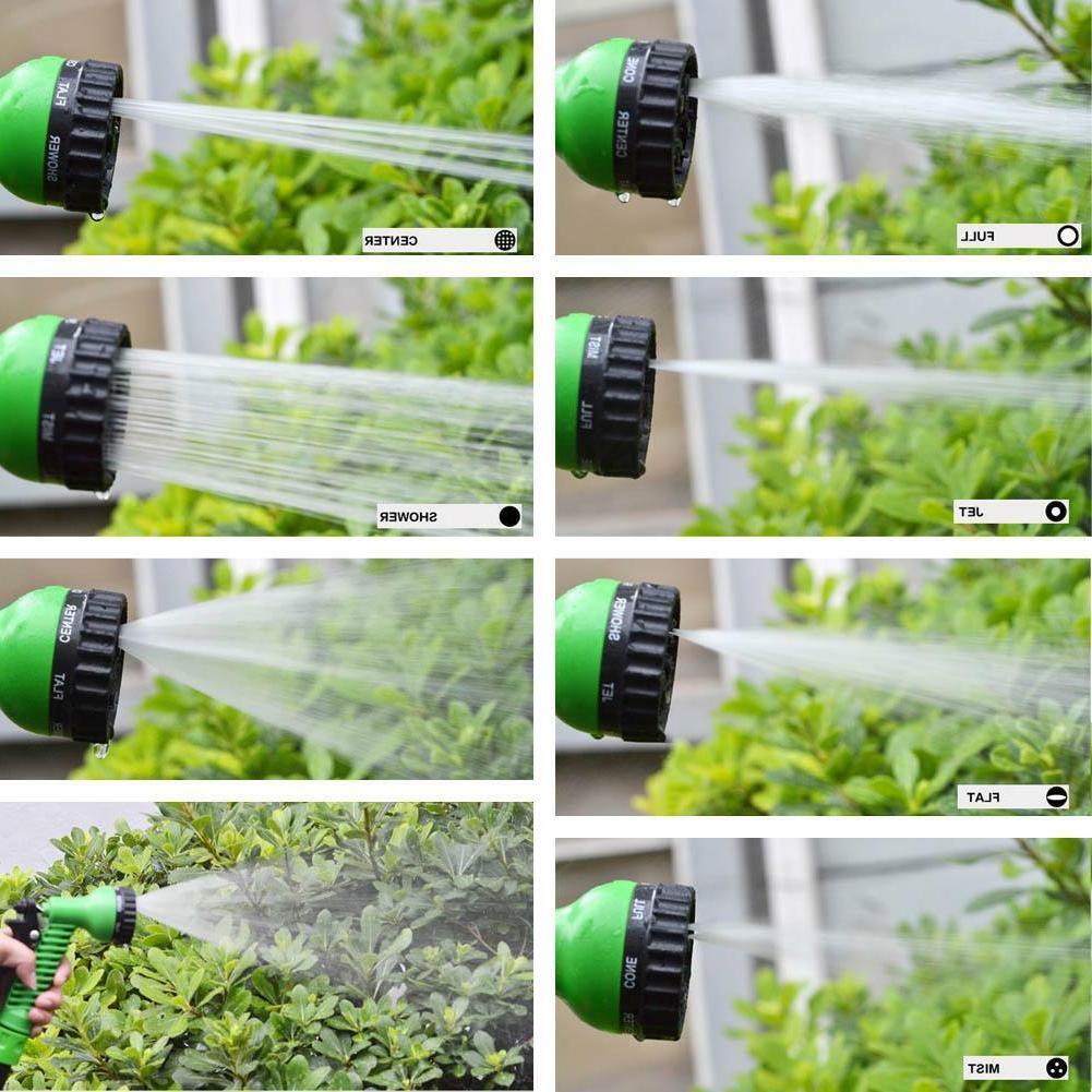 Deluxe 75 100 Feet Expandable Flexible Garden Water Spray Nozzle