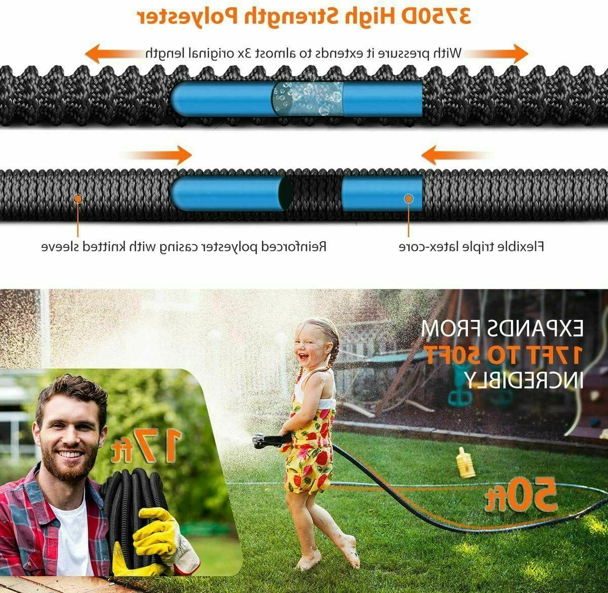 HooSeen Expandable 50ft Hose with