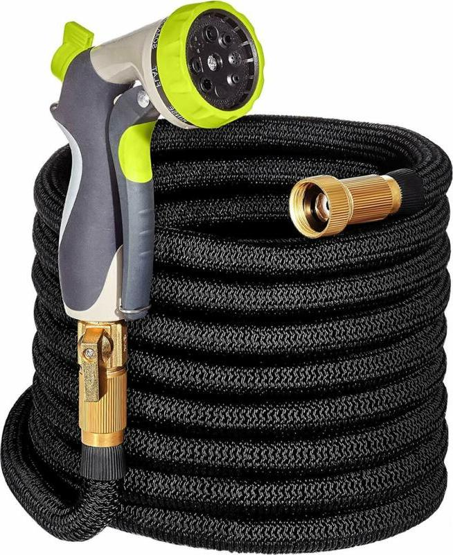 expandable garden hose 50ft with double latex