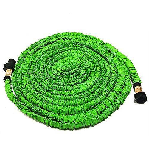 expandable garden hose fitting triple