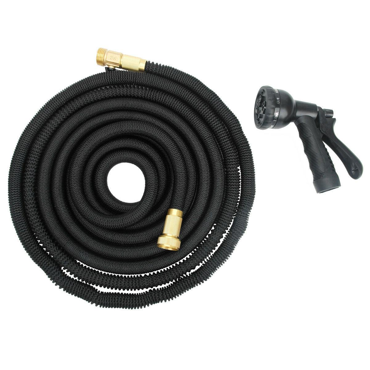 New 50ft Expandable Flexible Garden Water Hose Retractible P