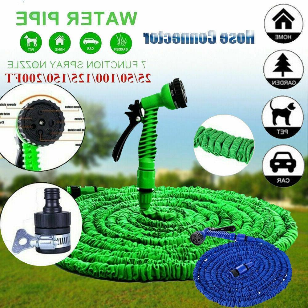 garden hose 200feet lightweight expandable deluxe heavy