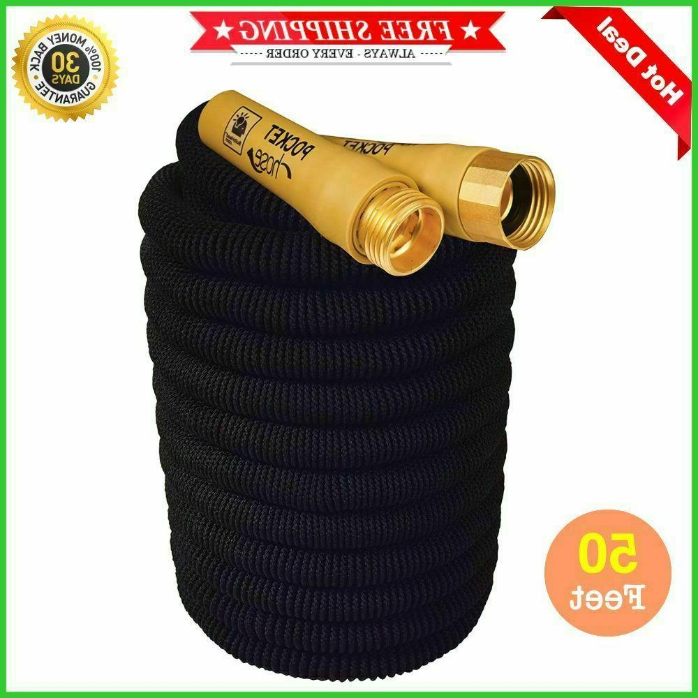 Garden Hose ft expandable Pocket Brass Bullet