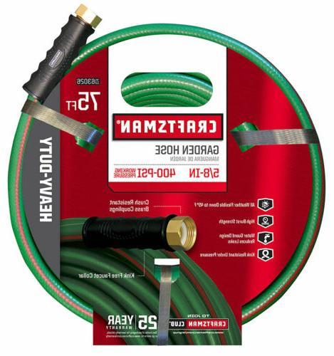 garden hose 75 ft heavy duty watering