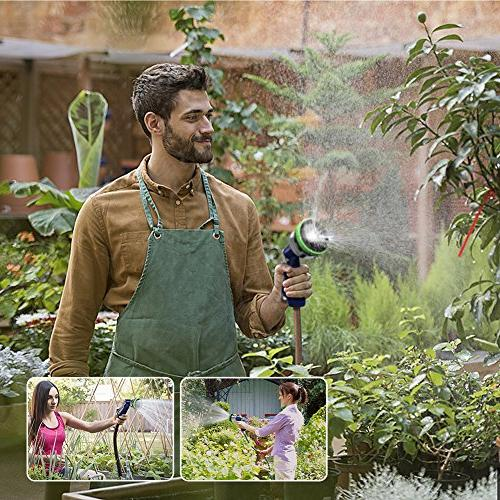 Garden Heavy Duty Nozzle 9 Pressure Hand Sprayer For Watering Plants, Showering