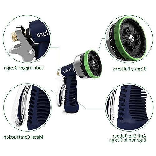 Garden Heavy Metal Nozzle Pressure Hand Watering Nozzle Sprayer For Showering