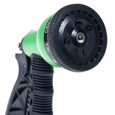 Garden Hose Nozzle Sprayer - 8 PATTERNS!