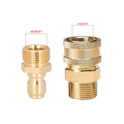 Adapter Accessories Quick Connector Set Outdoor High Pressur