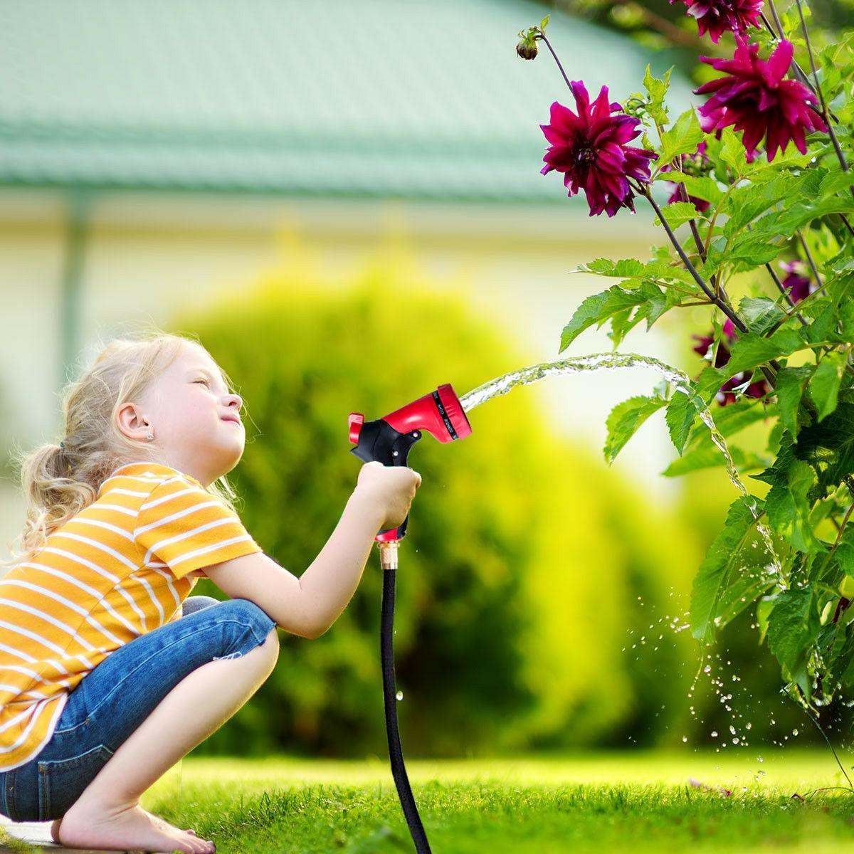 Garden Hose Pipe Expandable 9 Spray