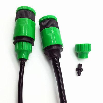 Garden Hose One Way Adapter Connector Fitting 1Pc