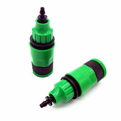 Garden Hose Pipe One Way Adapter Tap Fitting 1Pc