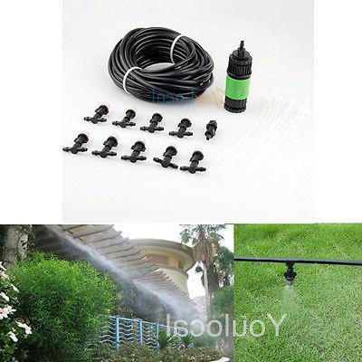 Garden Misting Hose Mister Nozzles Cooling System