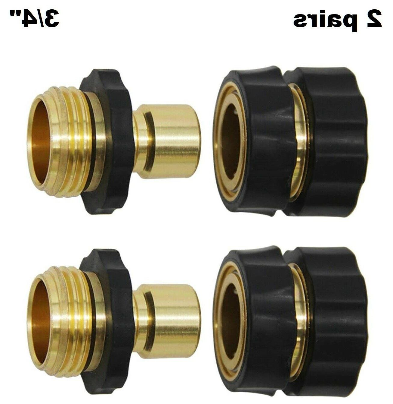 Garden Water Hose Quick Connect Fittings Faucet Adapter Disc