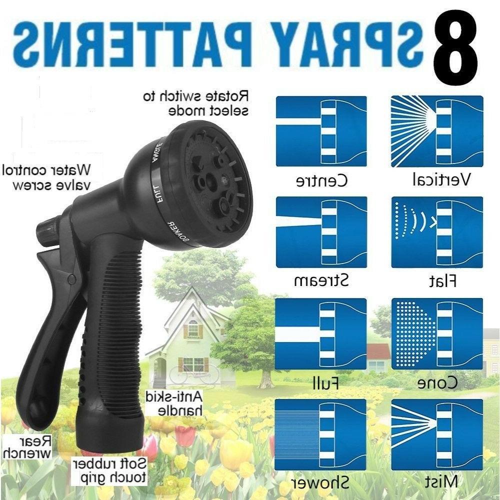 Heavy 50 3X Garden Set: Hose 2 Nozzles Bag