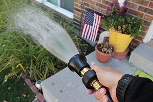Heavy Duty Style Nozzle - Fits Standard Hoses - Best Pressure Sprayer Your Your – Proof Lifetime Guarantee