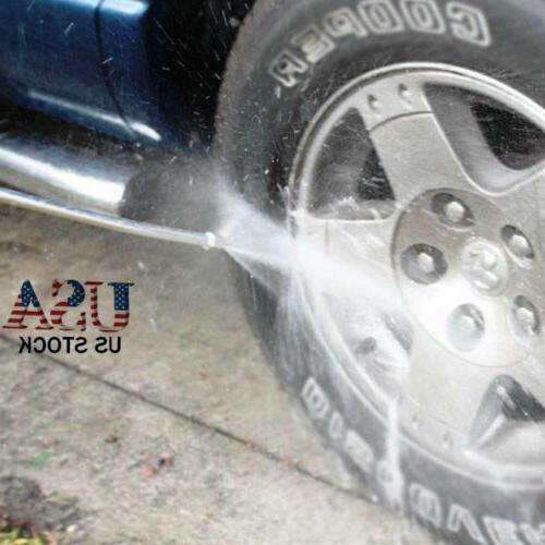 High Pressure Jet Car Washer Water Jet Washer Hose Wand