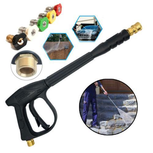 high pressure washer wand gun turbo spray