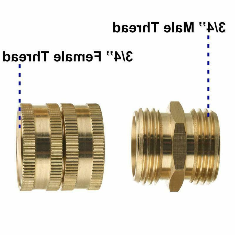 M Adapter, Male Female To 3/4 Inch Brass Con