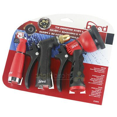 manufacturing 3 piece watering gardening hose nozzle
