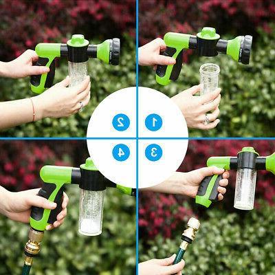 Garden Hose Nozzle Thumb Spray