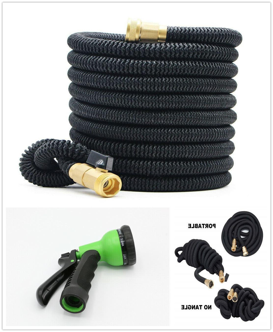 new 50ft expandable flexible garden water hose