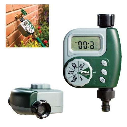 new single dial water timer 1 valve