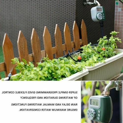 Outdoor Garden Irrigation Controller Timer