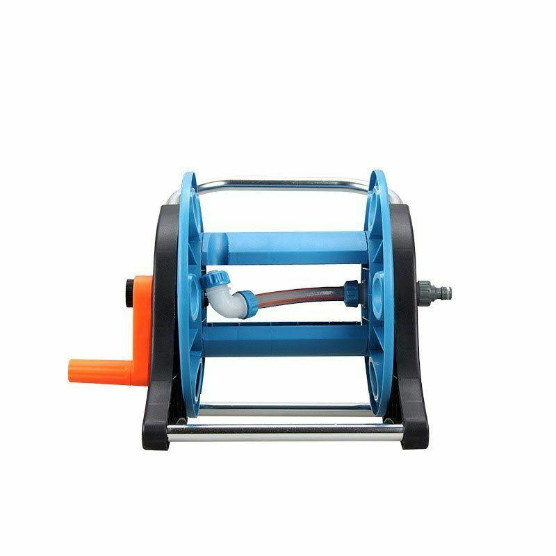 Portable Light Garden Hose Reels Save Household Water Trolley