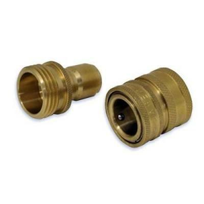 Apache Quick Disconnect Garden Hose Adapter, 2Pack
