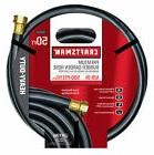 Craftsman Rubber Garden Hose 5/8 In 50ft Black Heavy Duty Br