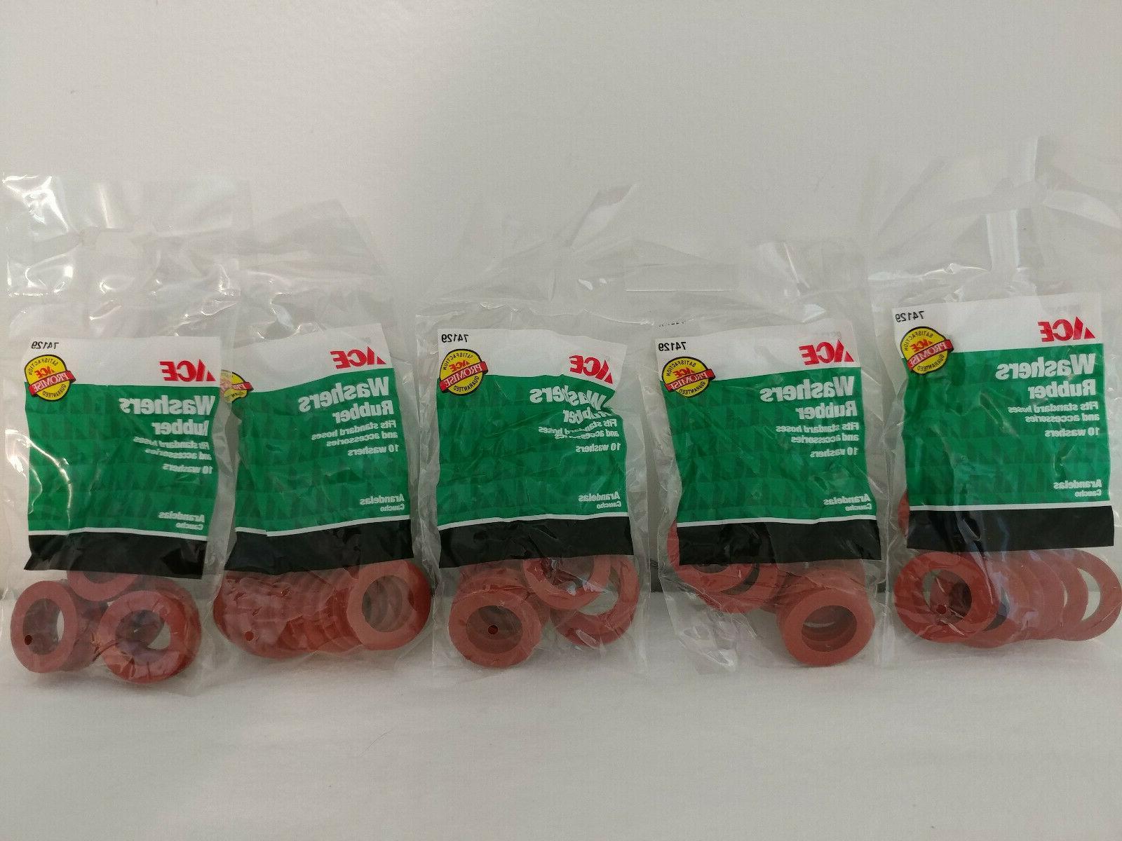 Rubber Hose Washers Pk/10 Ace Sprinklers 01RWAC 082901741299