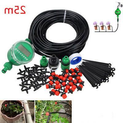 Self-Timer Garden Hose DIY Micro Drip Auto Gardening Irrigat