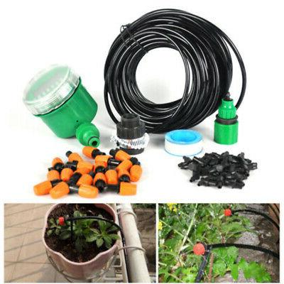 Self-Timer Garden Micro Drip Gardening Irrigation Kits