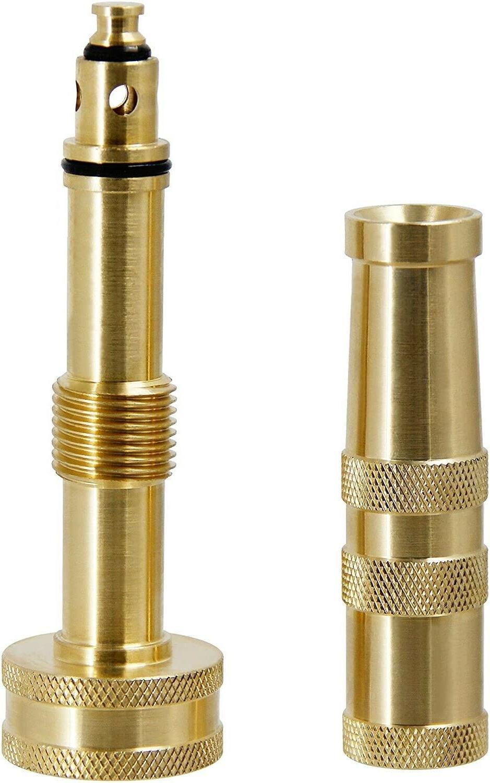 solid brass garden spray nozzle 4 adjustable