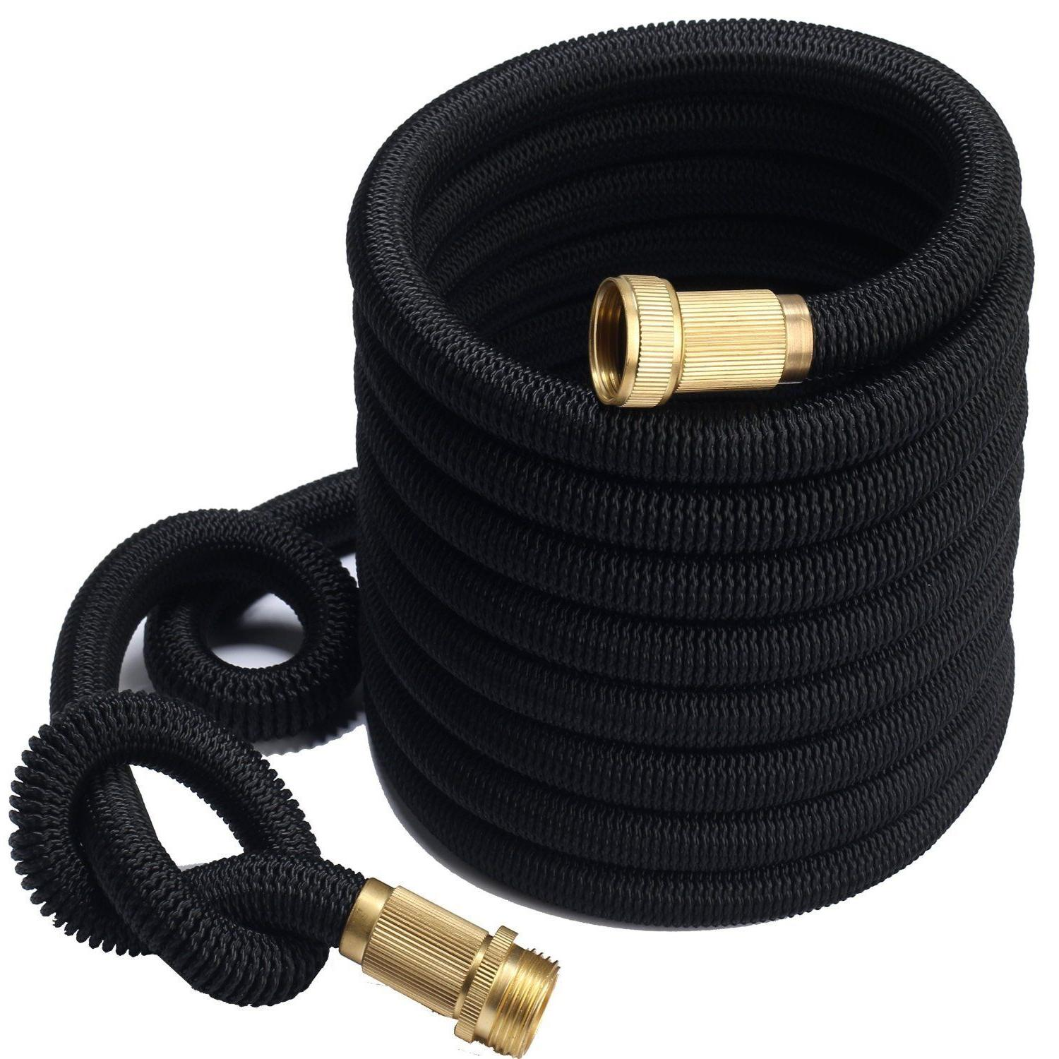 3X Stronger Deluxe 25 FT Expandable Flexible Garden Water Ho