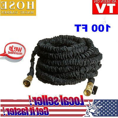 100FT Expandable Flexible Outdoor Yard Garden Water Pipe Mag